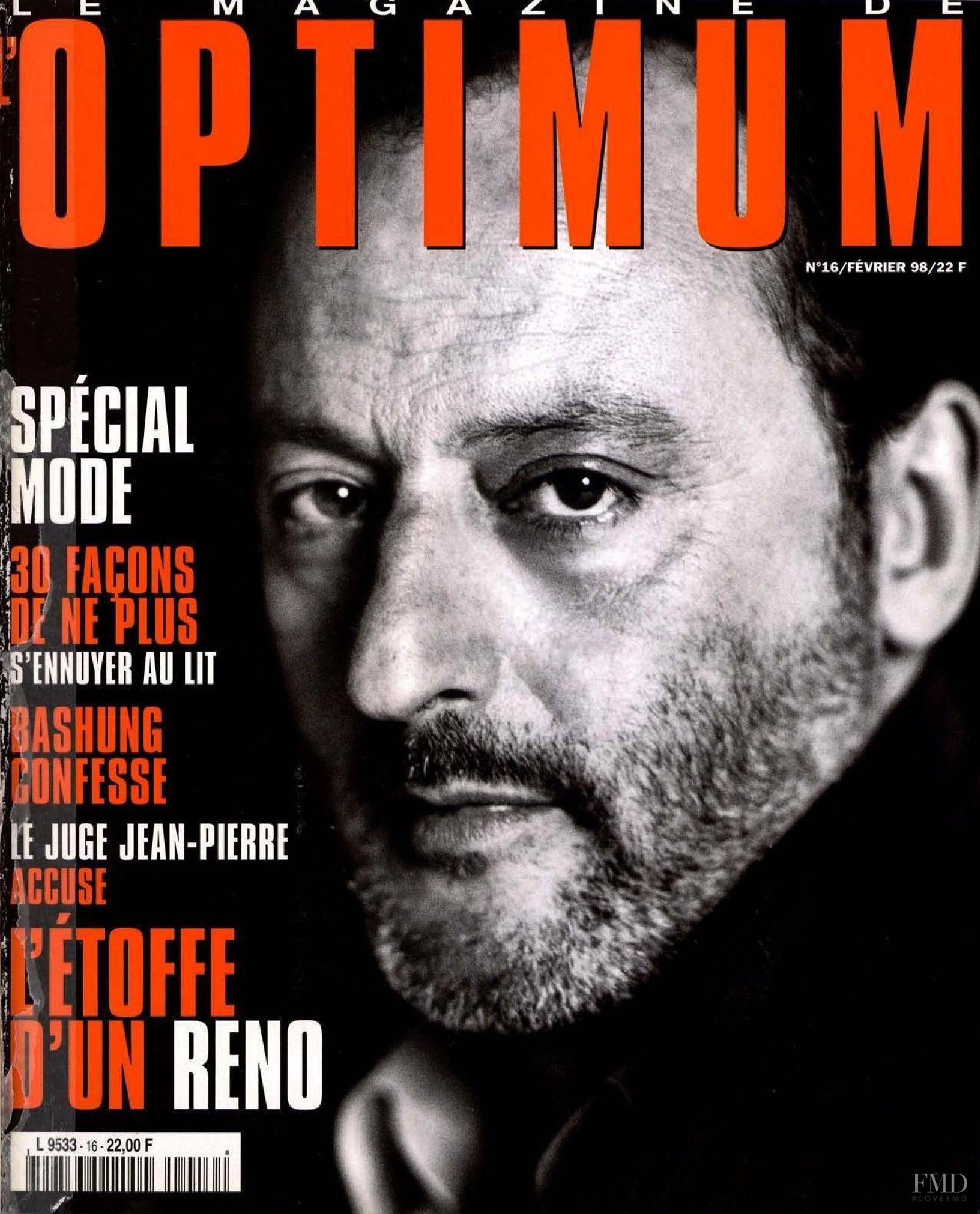 Cover of l 39 optimum with jean reno february 1998 id 1011 for Jean reno jean dujardin