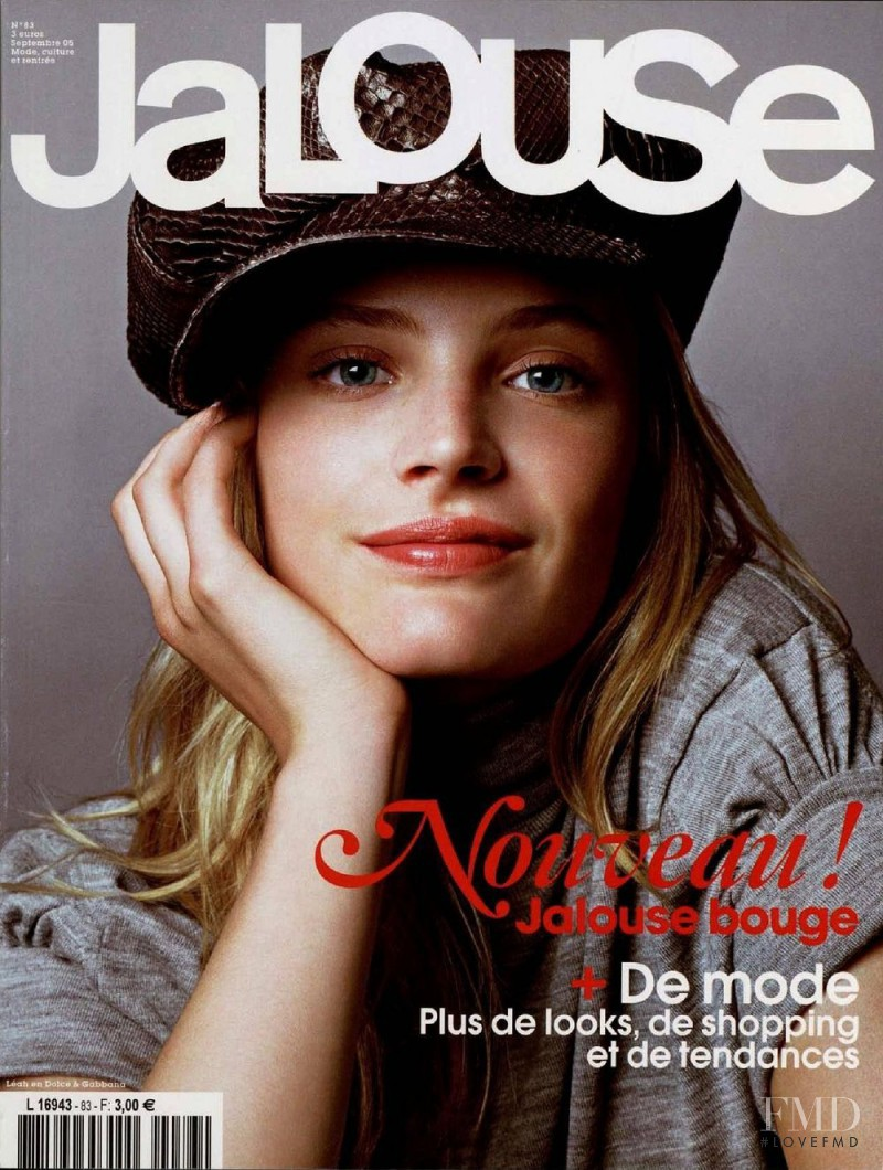 Leah de Wavrin featured on the Jalouse cover from September 2005