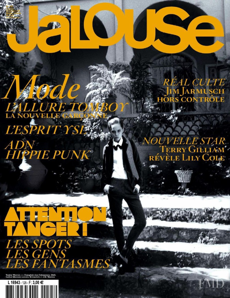 Taylor Warren featured on the Jalouse cover from November 2009