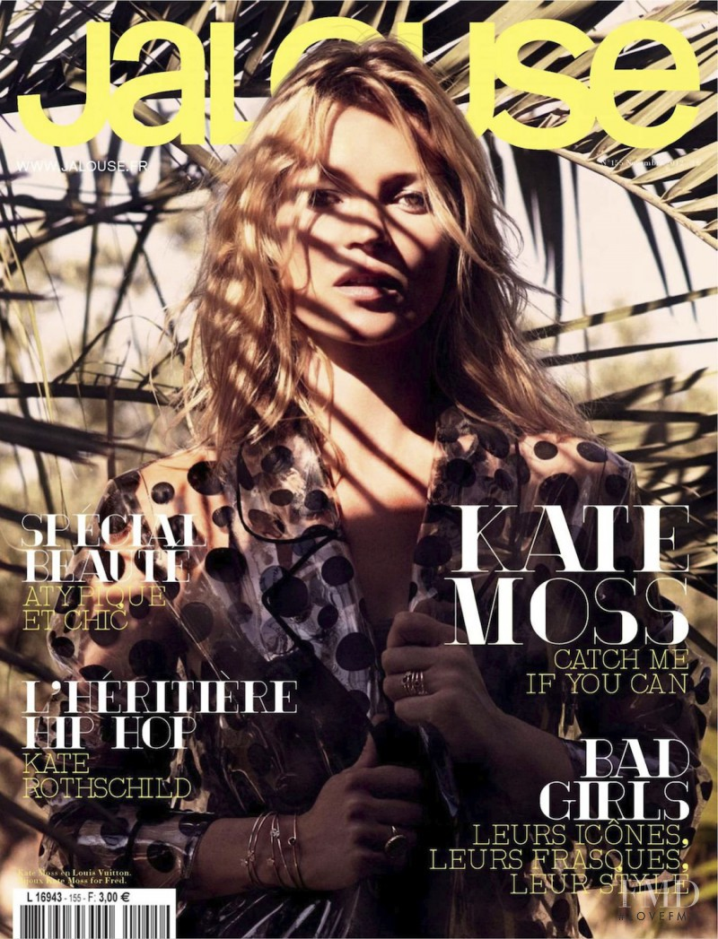 Kate Moss featured on the Jalouse cover from November 2012