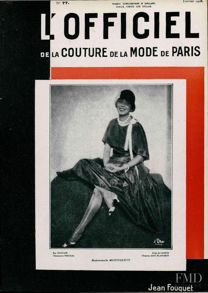 featured on the L\'Officiel France cover from January 1928