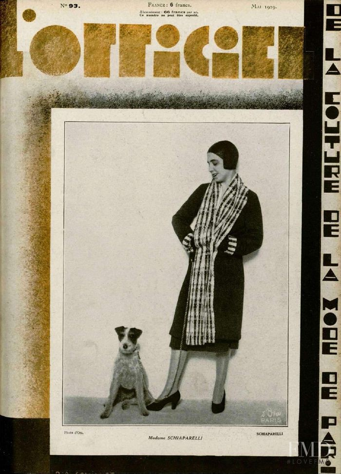 featured on the L\'Officiel France cover from May 1929