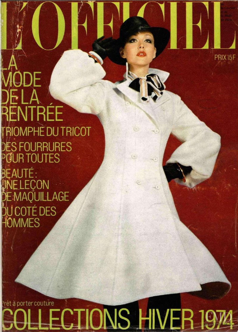 featured on the L\'Officiel France cover from September 1973