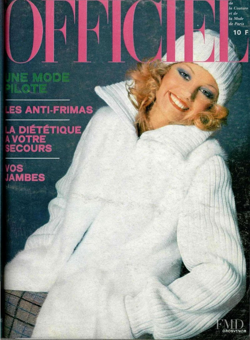 featured on the L\'Officiel France cover from November 1974