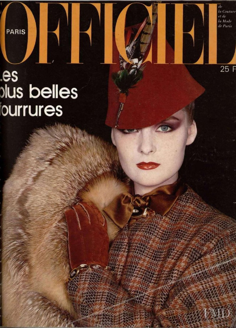 featured on the L\'Officiel France cover from October 1981