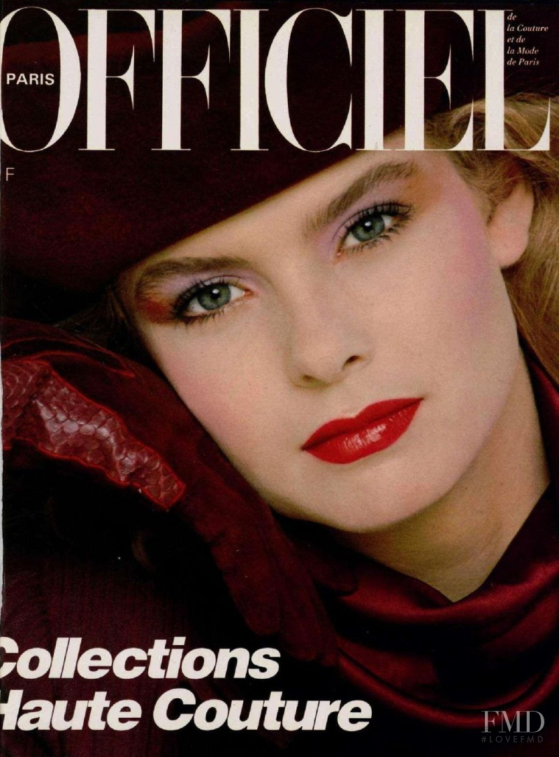 featured on the L\'Officiel France cover from September 1982