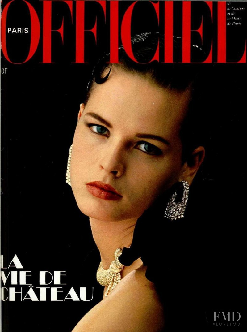 featured on the L\'Officiel France cover from December 1985