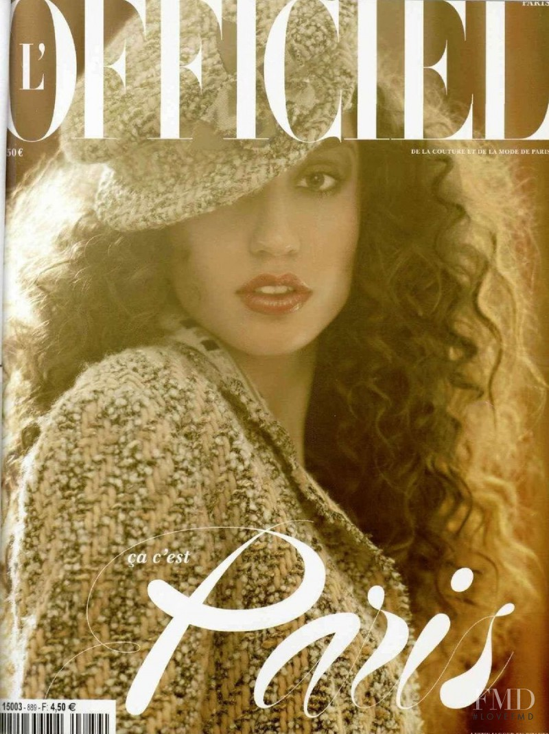 featured on the L\'Officiel France cover from October 2004