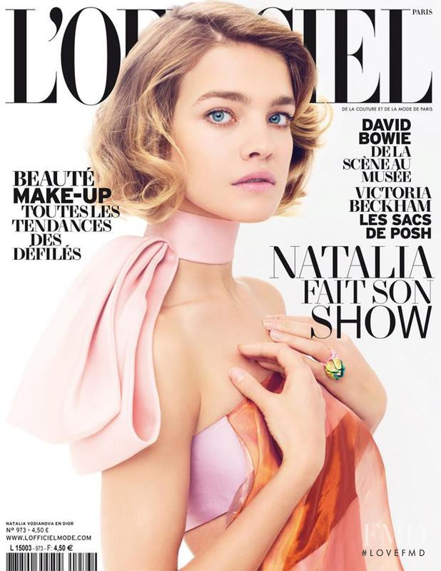 Natalia Vodianova featured on the L\'Officiel France cover from March 2013