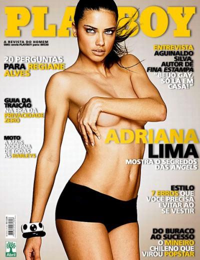 models Brazilian playboy