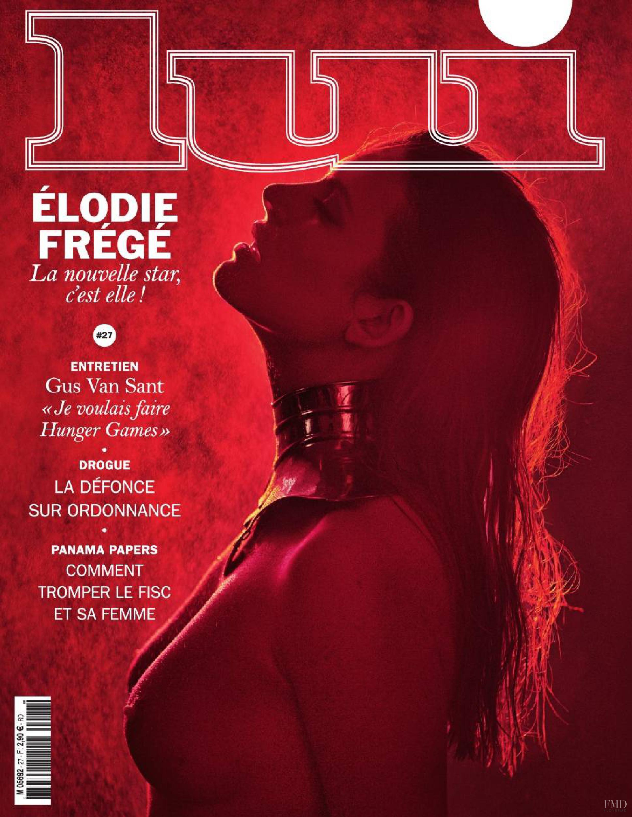 MALGOSIA BELA in Lui magazine, France February 2014 Issue