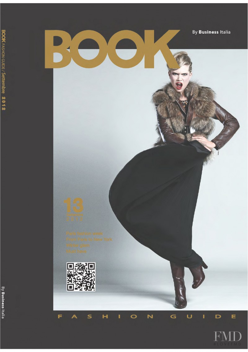 Cover Of Book Fashion Guide With Cecilie Johansen September 2012 Id 26038 Magazines The Fmd
