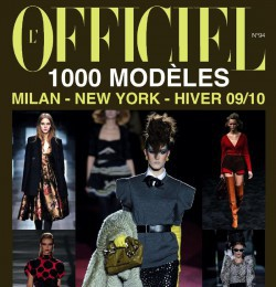 L\'Officiel 1000 Modeles Milan New York