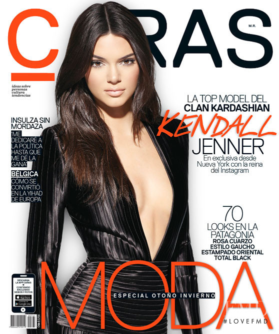Kendall Jenner featured on the Caras cover from April 2016