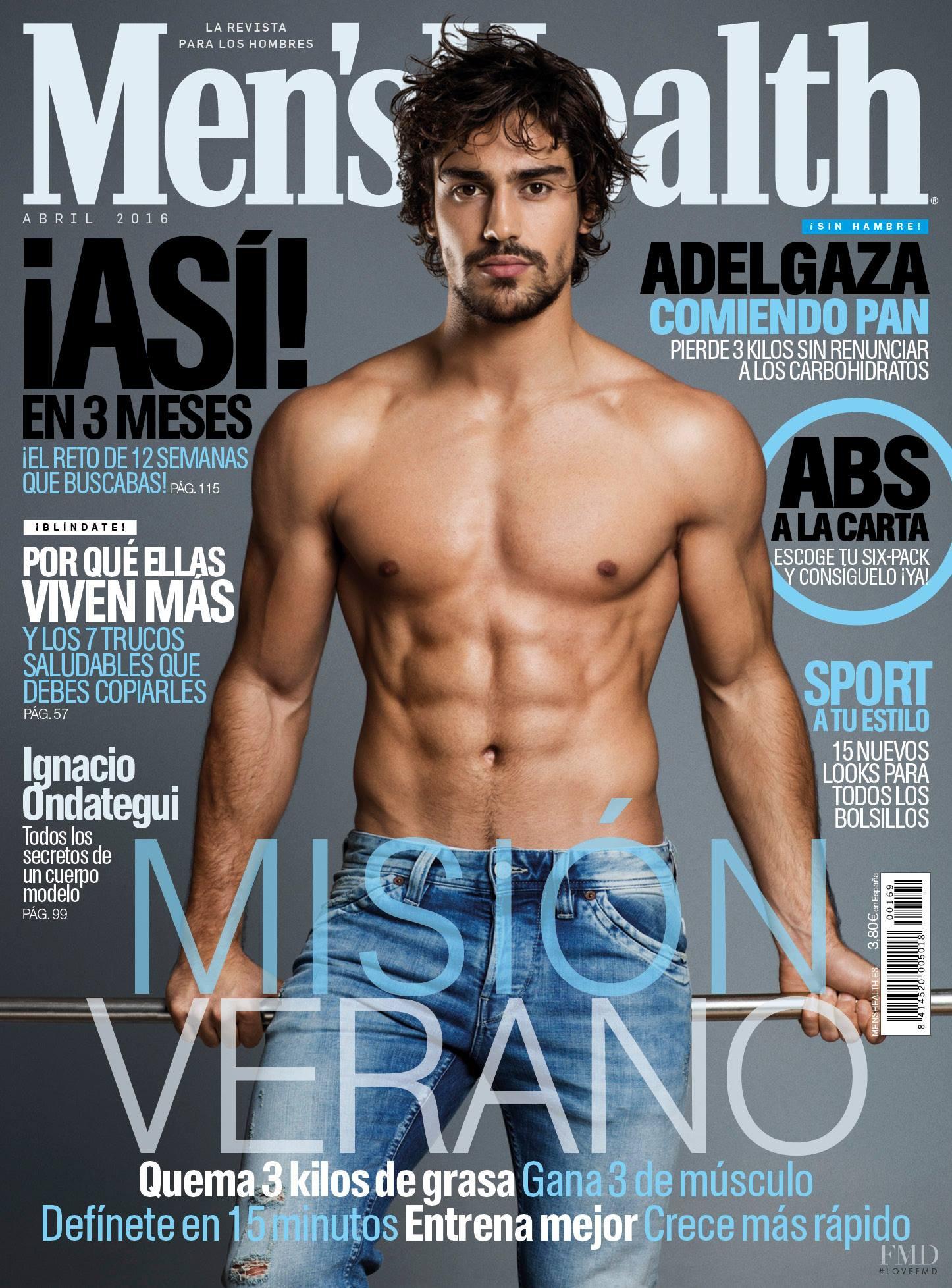 Mens Health Magazine President Barack Obama Instant Energy: Cover Of Men's Health Spain With Ignacio Ondategui, April