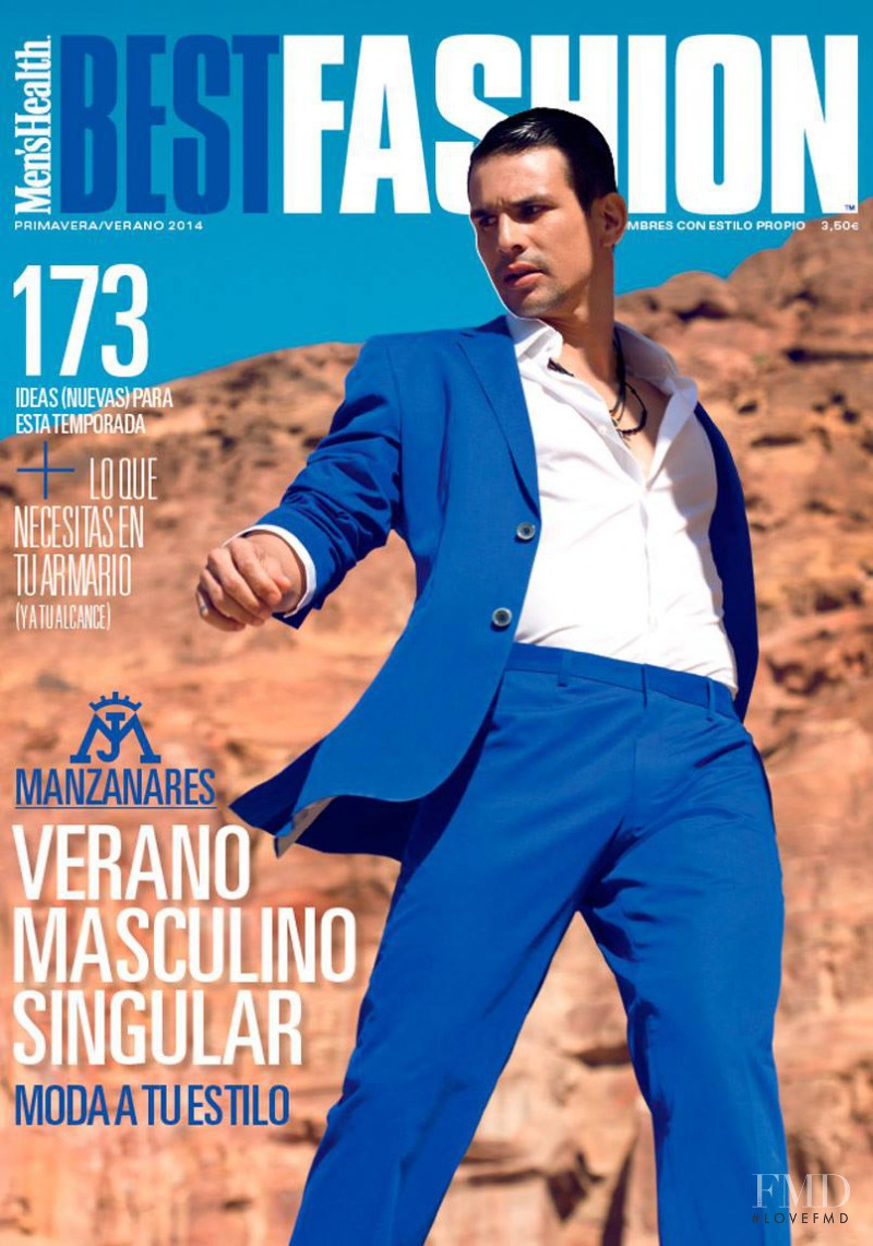 Cover Of Men 39 S Health Best Fashion With Jos Mara