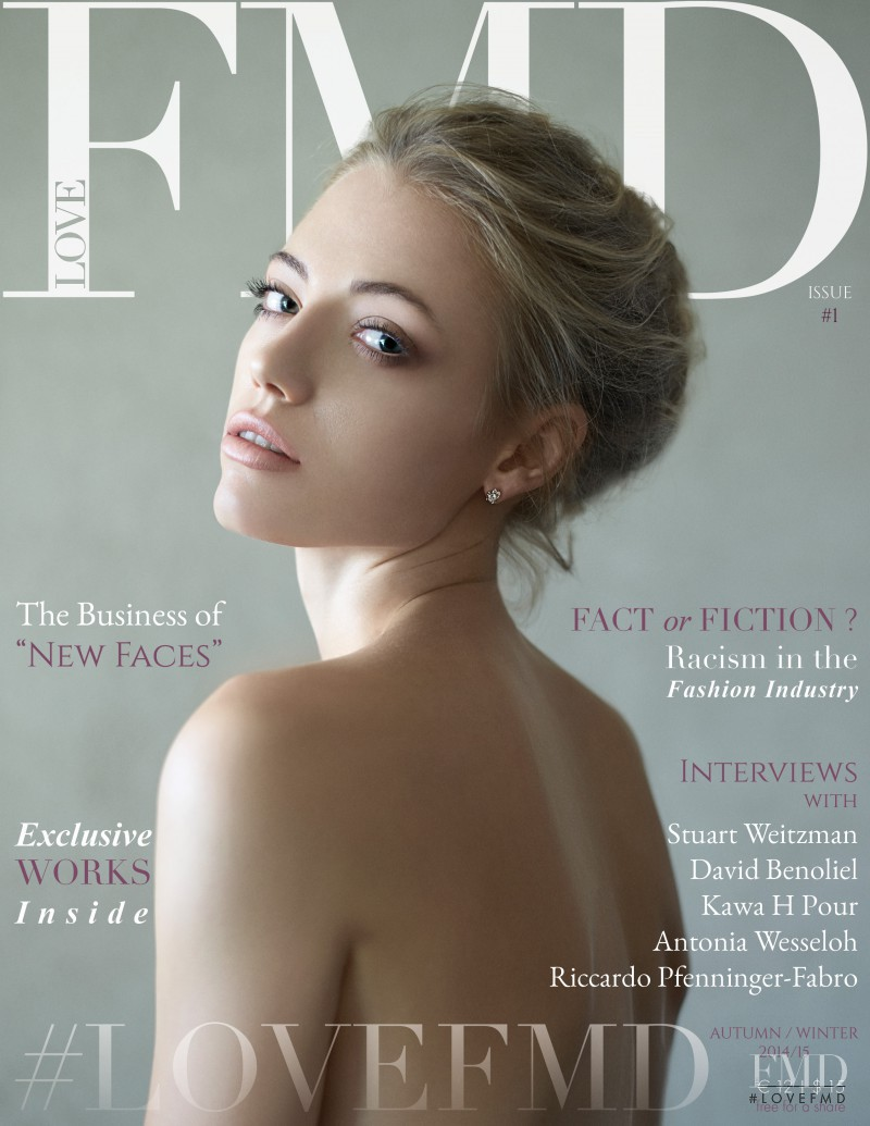 Klara Abelova featured on the loveFMD cover from October 2014