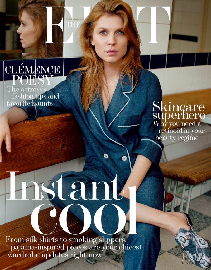 Clémence Poésy  featured on the The Edit cover from March 2016