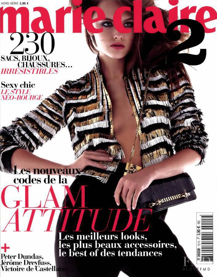 Zuzana Gregorova featured on the Marie Claire 2 France cover from February 2012