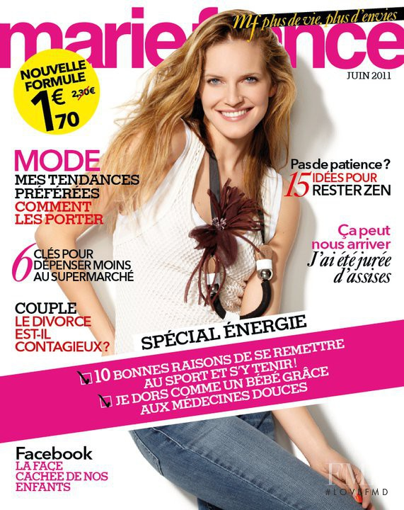 cover of marie france june 2011 id 18948 magazines the fmd. Black Bedroom Furniture Sets. Home Design Ideas