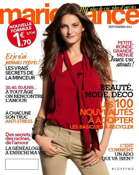cover of marie france september 2011 id 18951 magazines the fmd. Black Bedroom Furniture Sets. Home Design Ideas