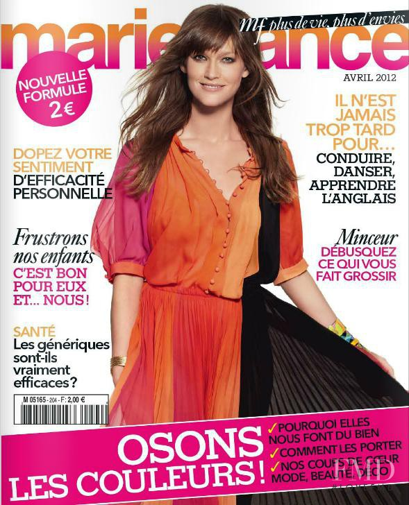 cover of marie france with denni parkinson april 2012 id 11916 magazines the fmd. Black Bedroom Furniture Sets. Home Design Ideas