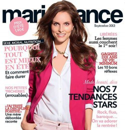 covers of marie france magazine magazines the fmd. Black Bedroom Furniture Sets. Home Design Ideas