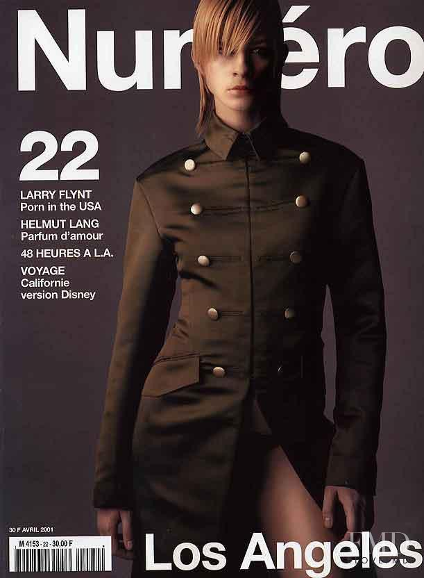 An Oost featured on the Numéro France cover from April 2001