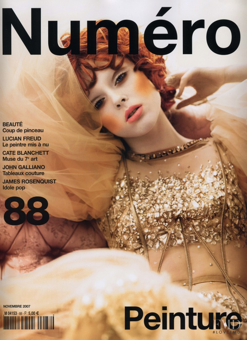 Coco Rocha featured on the Numéro France cover from November 2007