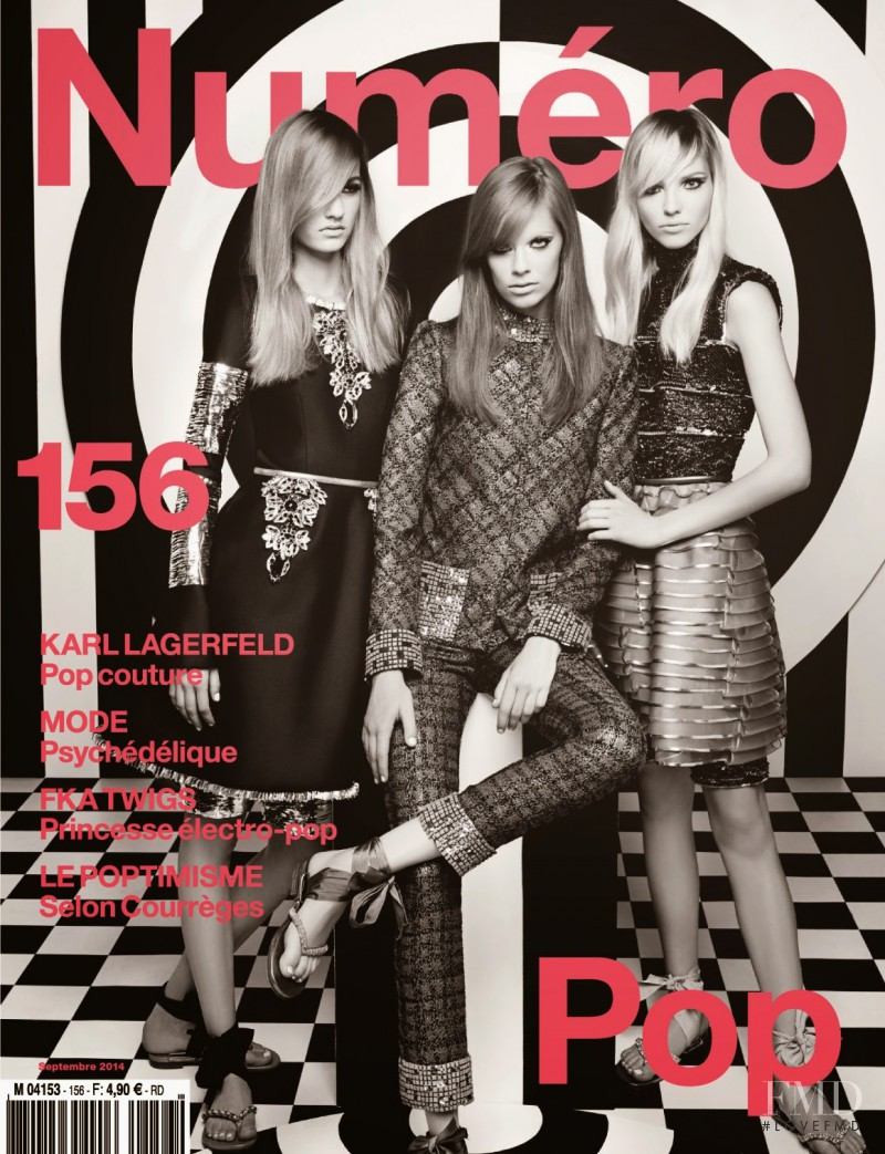Sasha Luss, Maartje Verhoef, Lexi Boling featured on the Num�ro France cover from September 2014