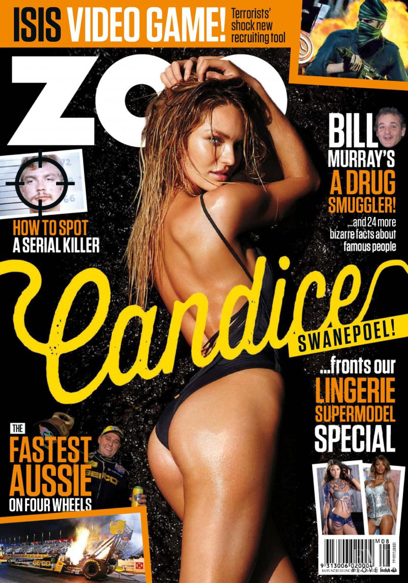Candice Swanepoel featured on the Zoo Weekly Australia cover from February 2015