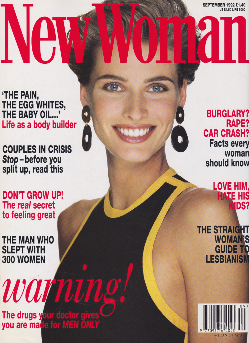 Cathy Fedoruk featured on the New Woman cover from September 1992