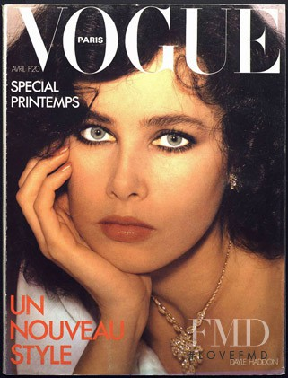 Dayle Haddon featured on the Vogue Paris cover from April 1978