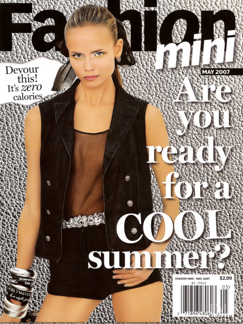 Natasha Poly featured on the The Daily Mini cover from May 2007