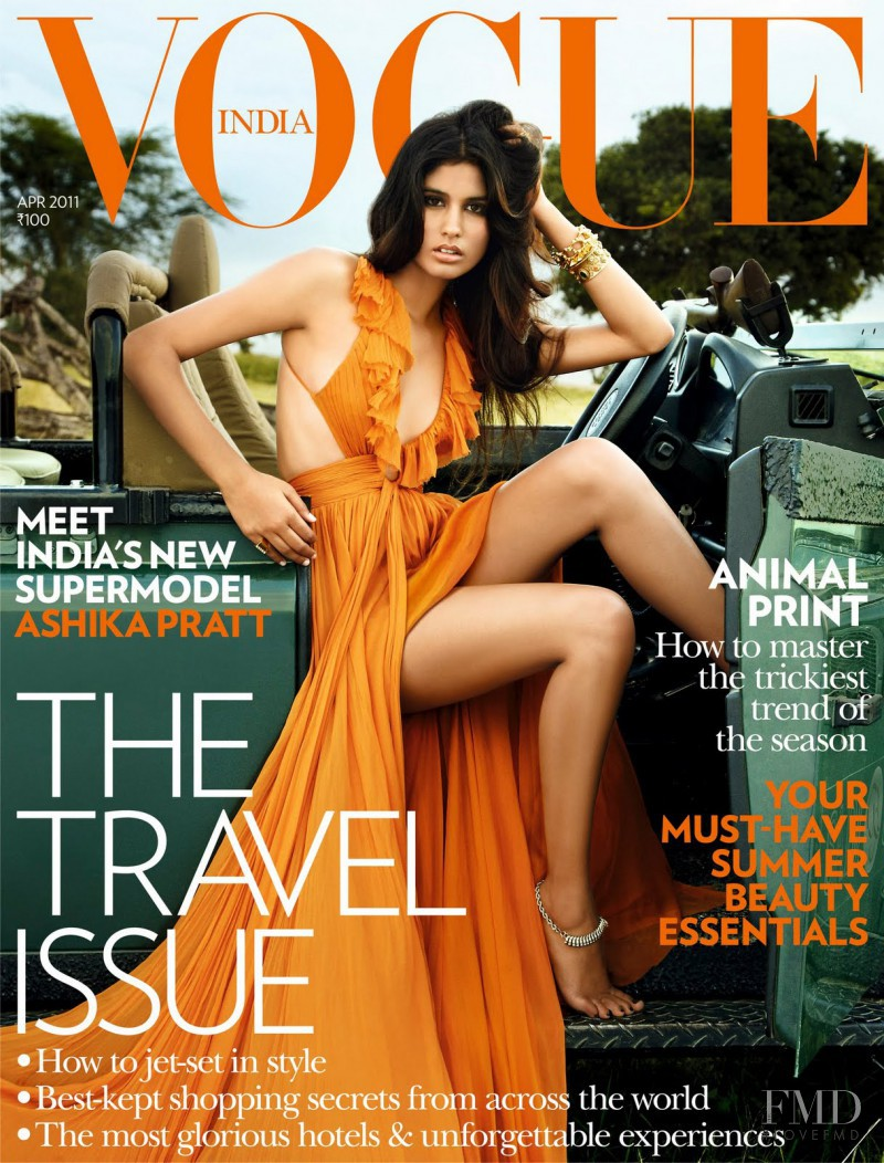 Covers Of Vogue India With Ashika Pratt 958 2011 Magazines The Fmd