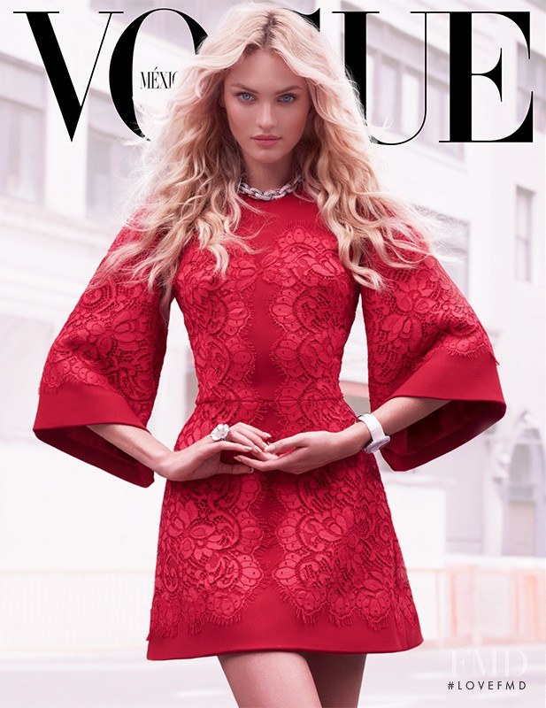 Candice Swanepoel featured on the Vogue Mexico cover from September 2013