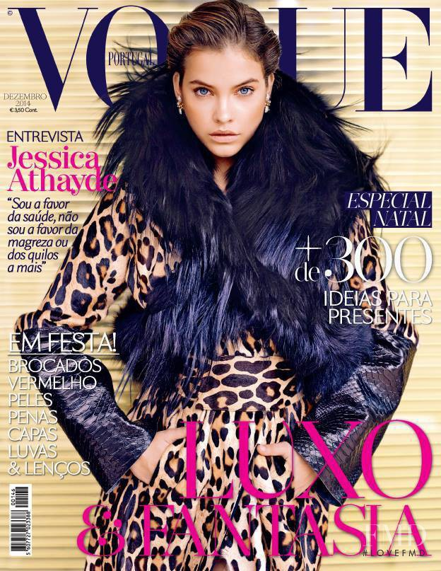 Barbara Palvin featured on the Vogue Portugal cover from December 2014
