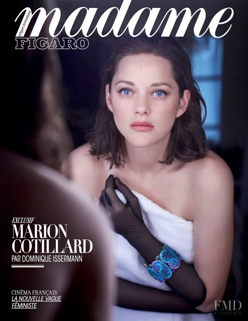 Marion Cotillard featured on the Madame Figaro France cover from May 2017