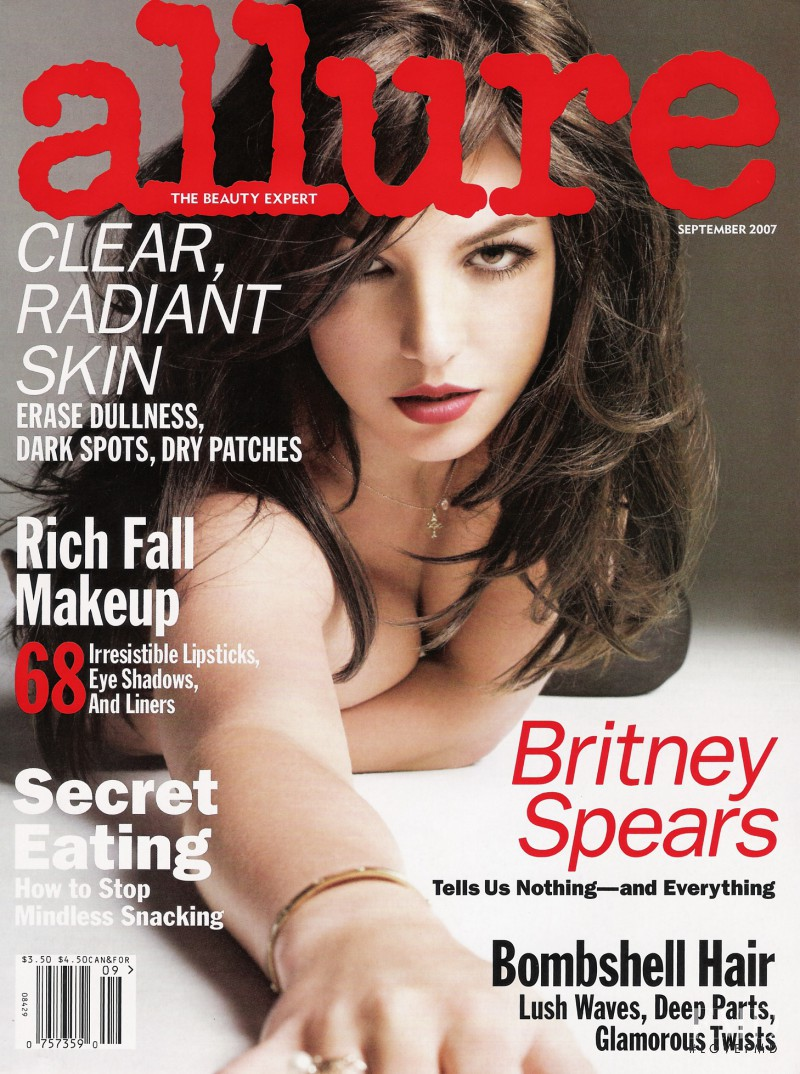Britney Spears featured on the Allure cover from September 2009