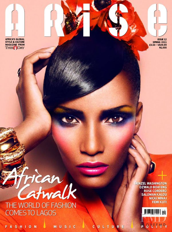 Rose Cordero featured on the Arise cover from March 2011