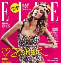 Denisa dvorakova gallery with 22 magazine covers for Sanoma magazines belgium