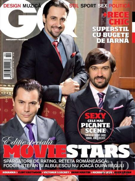 featured on the GQ Romania cover from February 2010
