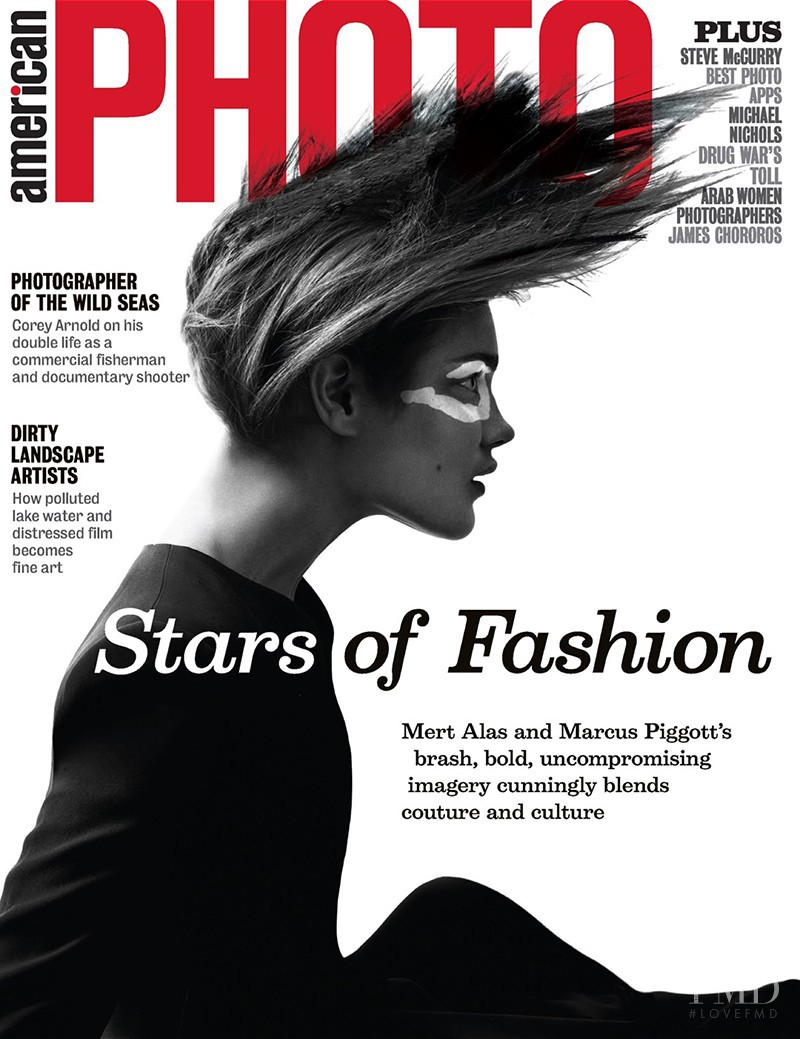 Natalia Vodianova featured on the American Photo cover from September 2013