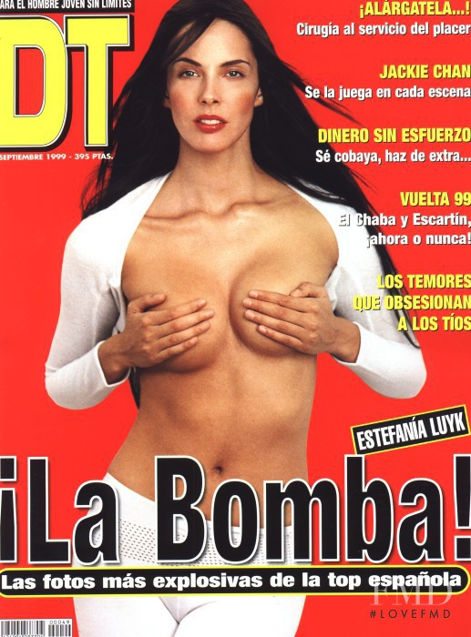 Estefania Luyk featured on the DTLux cover from September 1999