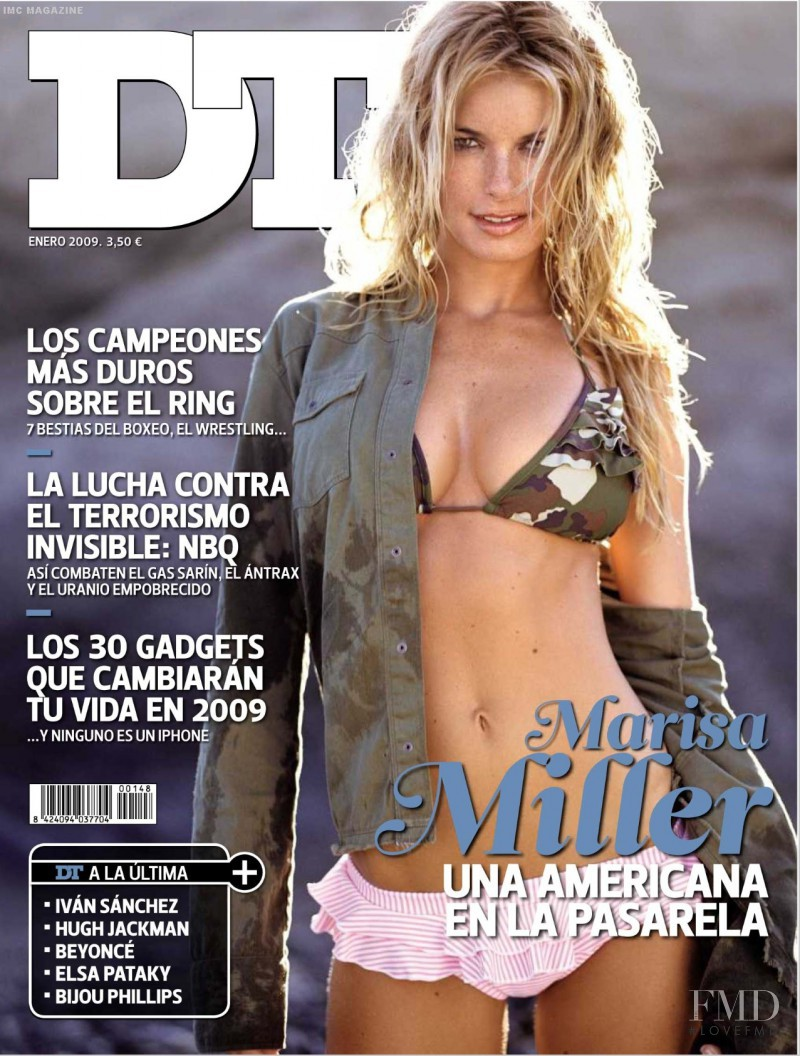 Marisa Miller featured on the DTLux cover from January 2009