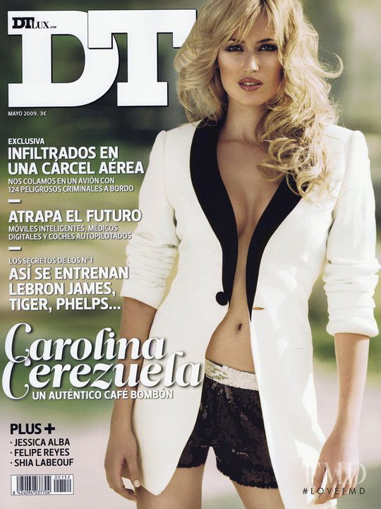 Carolina Cerezuela featured on the DTLux cover from May 2009