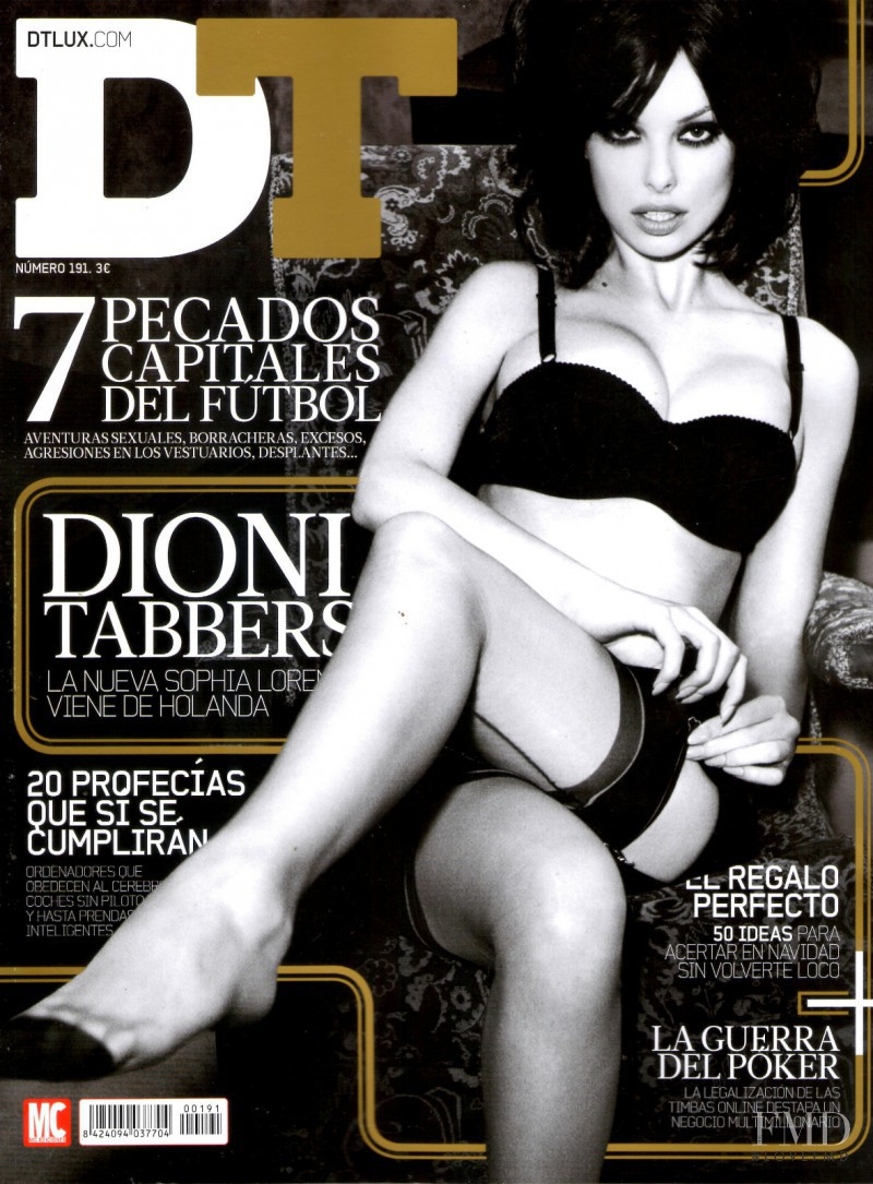 Dioni Tabbers featured on the DTLux cover from December 2012