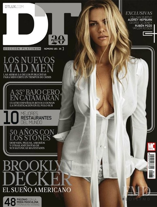 Brooklyn Decker featured on the DTLux cover from March 2012