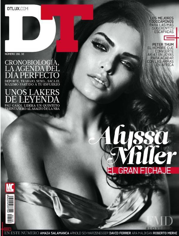 Alyssa Miller featured on the DTLux cover from November 2012