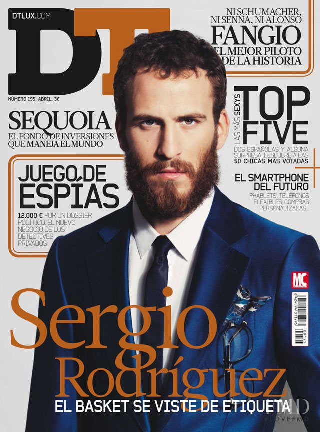 Sergio Rodríguez featured on the DTLux cover from April 2013